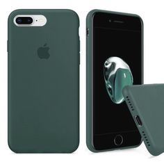 Акция на Чехол Silicone Full Cover для iPhone 7 Plus / 8 Plus Pine Green от Allo UA