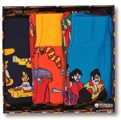 Акция на Носки Happy Socks The Beatles Socks Box Set XBEA08-6000 41-46 Разноцветные (7333102075373) от Rozetka