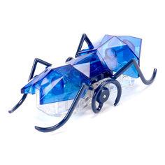 Акция на Нано-робот Hexbug Micro Ant синий (409-6389/1) от Будинок іграшок