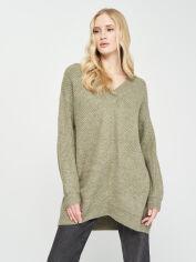Акция на Пуловер H&M 0580482-0 S Хаки (2000001653630) от Rozetka