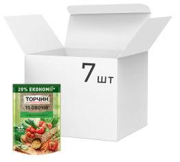 Акция на Упаковка приправы ТОРЧИН 10 Овощей универсальная 250 г х 7 шт (7613035803176) от Rozetka