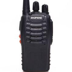 Акция на Рация Baofeng BF-888S, UHF, 5 Ватт, батарея 1500 мАч + Гарнитура Baofeng + Ремешок на шею Mirkit черный от Allo UA