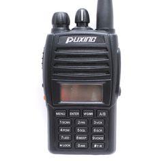 Акция на Рация профессиональная двухдиапазонная Puxing PX-UV973, VHF/UHF, со скремблером + Ремешок на шею Mirkit + Бесплатная доставка черный от Allo UA