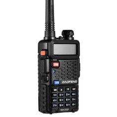 Акция на Рация с инверсионным экраном Baofeng BF-F8+ VHF/UHF, 5 Ватт, батарея 1800 мАч + Гарнитура Baofeng + Ремешок на шею Mirkit черный от Allo UA