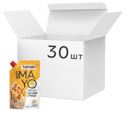 Акция на Упаковка майонеза Торчин Tasty Mayo с горчицей 200 мл х 30 шт (7613039744413) от Rozetka
