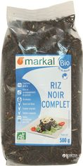 Акция на Рис Markal длиннозерный черный тайский органический 500 г (3329485551201) от Rozetka