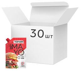 Акция на Упаковка майонеза Торчин Tasty Mayo с кетчупом 200 мл х 30 шт (7613039760369) от Rozetka