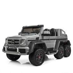 Акция на Электромобиль Bambi Mercedes 6 моторов M 3962ABLR-11 Silver (M 3962ABLR) от Allo UA