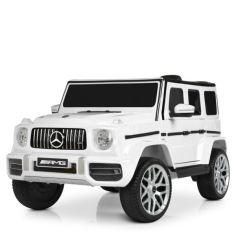 Акция на Детский электромобиль Bambi Mercedes M 4214EBLR-1 White (M 4214EBLR) от Allo UA