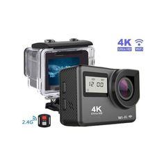 Акция на Экшн камера Action Camera Waterproof 4K WI-FI Dual Screen от Allo UA
