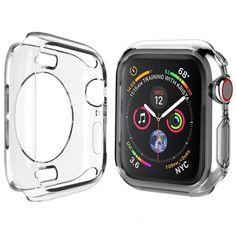 Акция на Защитный чехол Full Case для Apple Watch 44 mm прозрачный от Allo UA