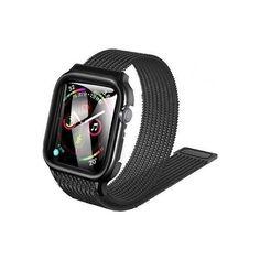 Акция на Ремешок с защитным чехлом Usams для Apple watch SE/6/5/4/3 38/40mm black от Allo UA