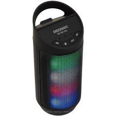 Акция на Беспроводная портативная акустическая колонка динамик Greenwave PS-SO-34L W Черный Bluetooth (R0014183) бас от Allo UA