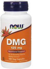 Акция на Аминокислота Now Foods Диметилглицин 125 мг 100 вегетарианских капсул (733739004727) от Rozetka