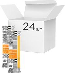 Акция на Упаковка макарон La Ruvida Spaghettoni №18 bronzo 500 г х 24 шт (8008857126180) от Rozetka