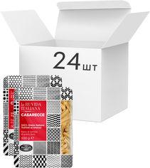 Акция на Упаковка макарон La Ruvida Casarecce bronzo 500 г х 24 шт (8008857126586) от Rozetka