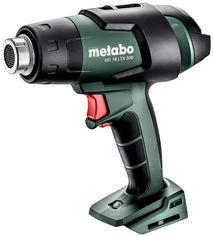 Акция на Строительный фен Metabo HG 18 LTX 500 аккумуляторный (610502850) от Rozetka