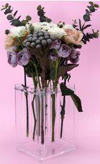 Акция на Ваза-подставка для цветов Flowlife с колбами Прозрачная (2000992406925) от Rozetka