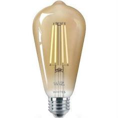 Акция на Умная лампочка WIZ Smart LED WiFi ST64 E27 DW FA Q Warm Dimmable Filament (WZE21016411-A) от Foxtrot