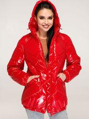 Акция на Куртка Favoritti В-1266 54 Красная (4900000244359) от Rozetka