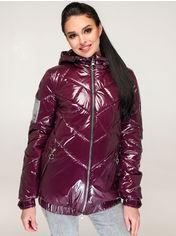 Акция на Куртка Favoritti В-1270 46 Темно-красная (4900000244571) от Rozetka