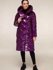 Акция на Куртка Favoritti ПВ-1255-Лак-14 54 Темно-фиолетовая (4900000239218) от Rozetka