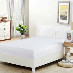 Акция на Простынь Good-Dream Бязь White на резинке 160х200 (GDCBSHEETF160200) от Rozetka
