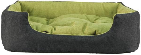 Акция на Лежак для кошек и собак Фортнокс FX home Rosto 42 х 34 х 12 см Серо-зеленый (2820000013446) от Rozetka