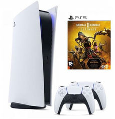 Акция на Sony PlayStation 5 + DualSense Wireless Controller + Mortal Kombat 11 Ultimate от Stylus