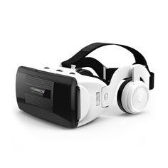 Акция на Очки виртуальной реальности c наушниками Shinecon VR G06EB 3D гарнитура от Allo UA