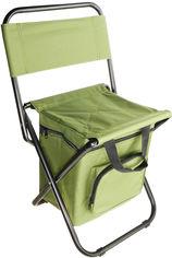 Акция на Складной стул Supretto с термосумкой Хаки (5868-0001) от Rozetka
