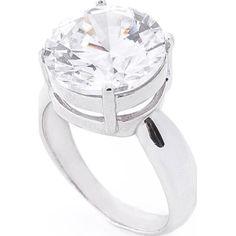 Акция на Кольцо из серебра с куб. цирконием, размер 18 (1625339) от Allo UA