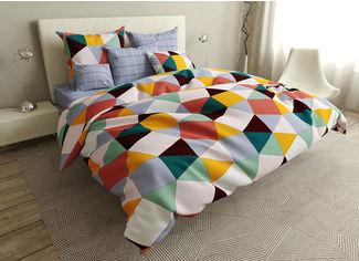 Акция на Комплект постельного белья MirSon Бязь Premium 17-0403 Rhombuses Детский (2200002872881) от Rozetka