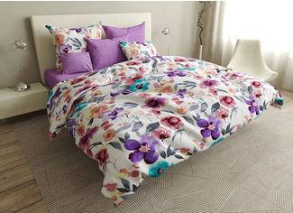Акция на Комплект постельного белья MirSon Бязь 17-0405 Spring King Size (2200002877046) от Rozetka