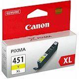 Акция на Картридж CANON CLI-451Y XL Yellow (6475B001) от Foxtrot