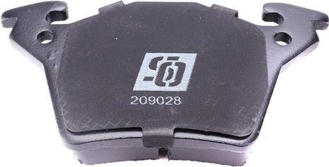 Акция на Колодки тормозные (задние) Solgy MB Vito (W638) CDI 98- (Bosch) (209028) от Rozetka