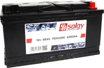 Акция на Автомобильный аккумулятор Solgy 95Ah/750A (353x175x190/+R) (406004) от Rozetka