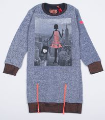 Акция на Платье Tom-Du Senna 104-110 см Серое (6447191271491) от Rozetka