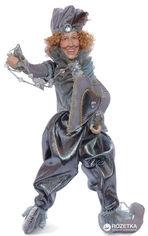 Акция на Фигурка Scorpio Кукла-шут 41 см Серебристая (571115)(4824028004057) от Rozetka