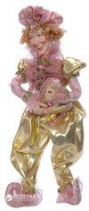 Акция на Фигурка Scorpio Кукла-шут 41 см Розово-золотистая (571118)(4824028004088) от Rozetka
