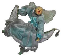 Акция на Елочная игрушка Scorpio Кукла-фея на луне 25 см Голубая (571184)(4820005711840) от Rozetka