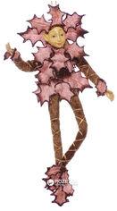 Акция на Елочная игрушка Scorpio Кукла-эльф 30 см Шоколадная (571056)(4824028009434) от Rozetka