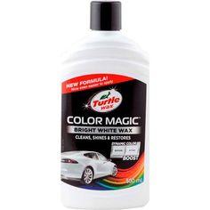 Акция на Цветообогащённый полироль БЕЛЫЙ Color Magic 500 мл EXTRA FILL Turtle Wax (5010322532412) от Allo UA