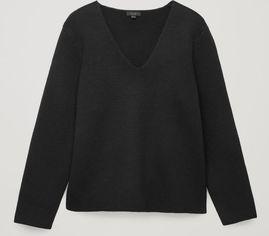 Акция на Пуловер COS 0722113-9 S Черный (2000001735398) от Rozetka