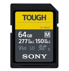 Акция на SONY 64GB SDXC C10 UHS-II U3 V60 (SFM64T.SYM) от Repka