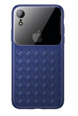 Акция на Baseus для iPhone XR Glass & Weaving Blue (WIAPIPH61-BL03) от Repka