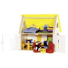Акция на GOKI Кукольный домик с мебелью (51742G) от Repka