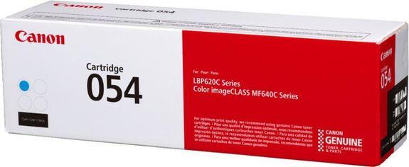 Акция на CANON 054H MF641/643/645, LBP-621/623 Series Cyan,1200 стр (3023C002) от Repka