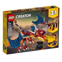 Акция на LEGO Creator Огненный дракон (31102) от Repka