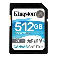 Акция на KINGSTON 512GB SDXC Canvas Go Plus 170R Class 10 (SDG3/512GB) от Repka